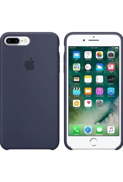 Gezegen Aksesuar Apple iPhone 8 Plus Kılıf - Lacivert
