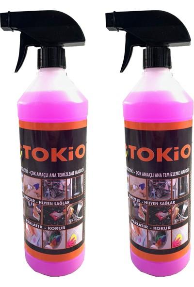 Tokio Çok Amaçlı Genel Temizleyici Leke Çıkarıcı 2'li 1 lt