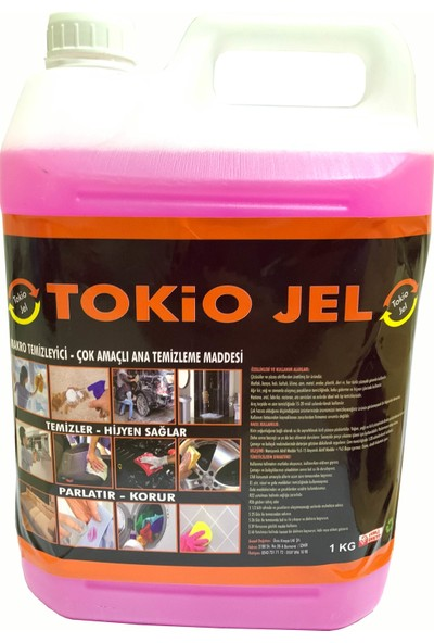 Tokio Çok Amaçlı Genel Temizleyici Leke Çıkarıcı 5 lt Bidon