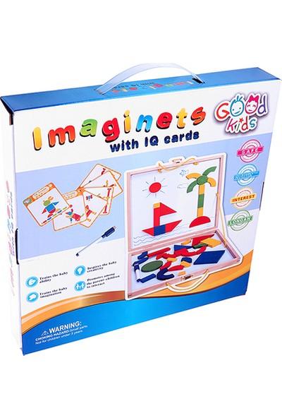 Hi-Q Toys Magnetli Kartlı Şekil Oluşturma