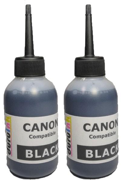 Duruink Canon Mg4250 Mx375 Mx390 Pg 540 Kartuş Mürekkep Dolum Seti 2x100 ml Siyah