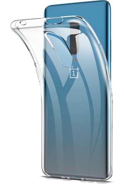 Gpack OnePlus 7 Pro Kılıf Kamara Korumalı Şeffaf Silikon Şeffaf