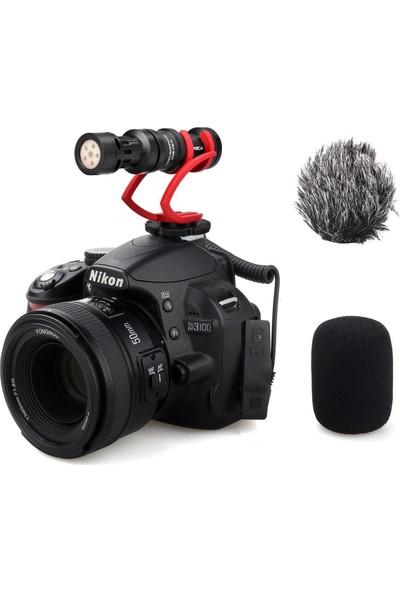 Comica CVM-VM10II Kablolu Shotgun Mikrofon