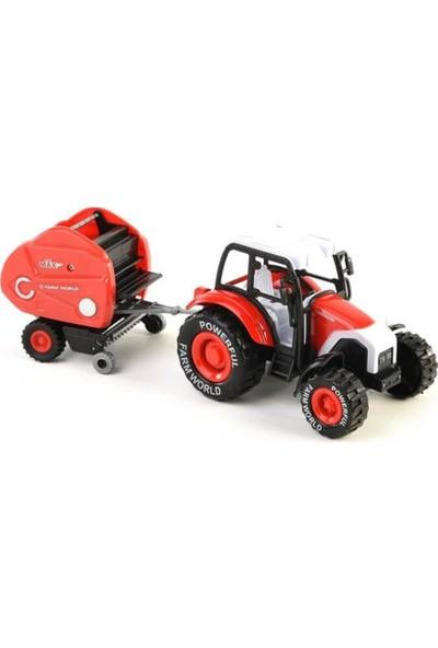 Mega Oyuncak Mega Metal Farmer Traktör Set 1:24
