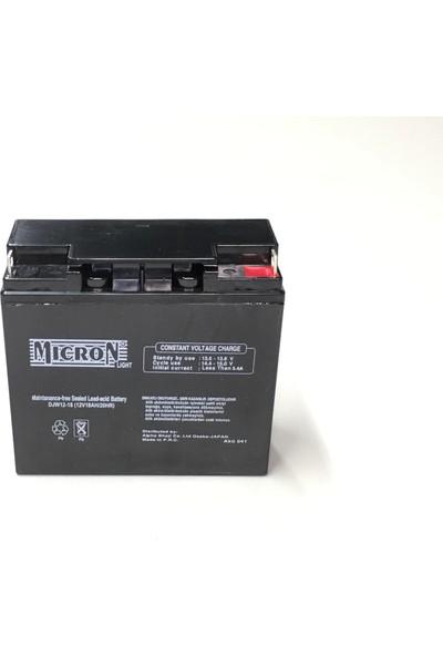 Micron 12V 18A Kuru Bakımsız Akü