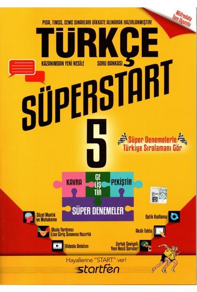 Startfen 5. Sınıf Türkçe Süperstart Soru Bankası