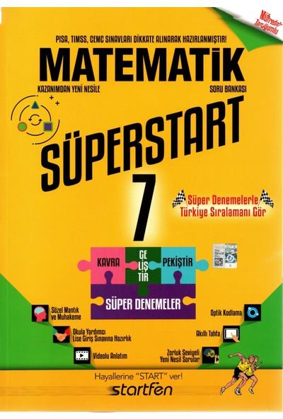 Startfen 7. Sınıf Matematik Süperstart Soru Bankası