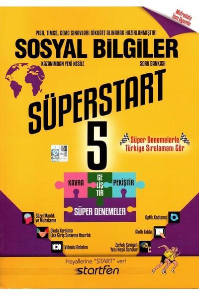 Startfen 5. Sınıf Sosyal Bilgiler Süperstart Soru Bankası