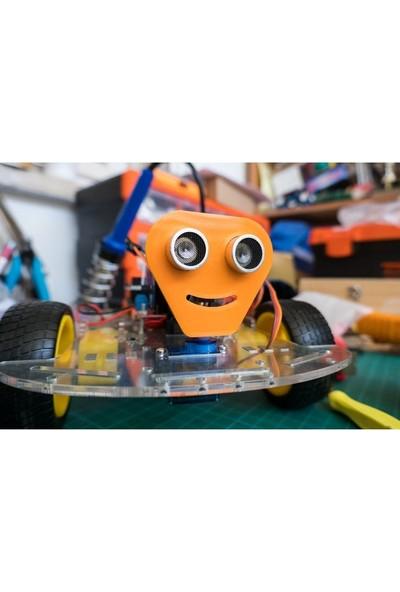 Maker Arduino Robot Seti Engelden Kaçan Çizgi Izleyen Wifi