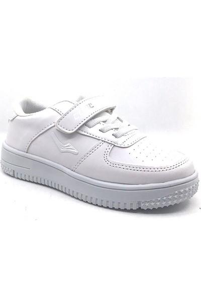 Cool 19-K46 Filet Beyaz Erkek Çocuk Mevsimlik Spor Ayakkabı