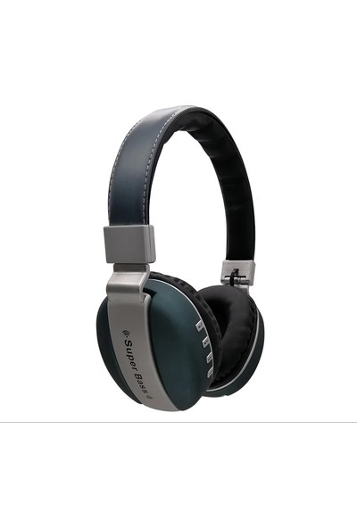 Tortoyo Akıllı Kablosuz Stereo 3D Surround HiFi Kulaklık Bluetooth Kulaklık - Mavi