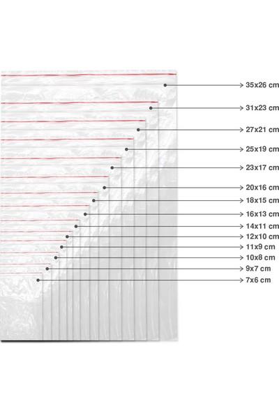 Mimsan Kilitli Torba 10 x 12 cm - 12.000'li - 1koli