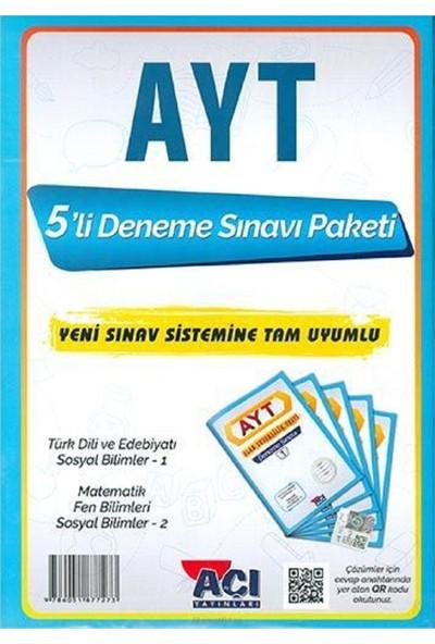 Açı Yayınları AYT 5'li Deneme Sınavı Paketi