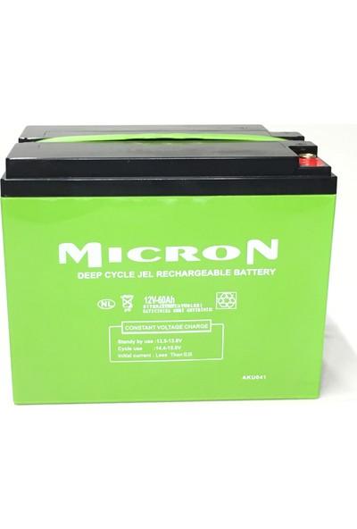 Micron 12V 60AH Jel Akü