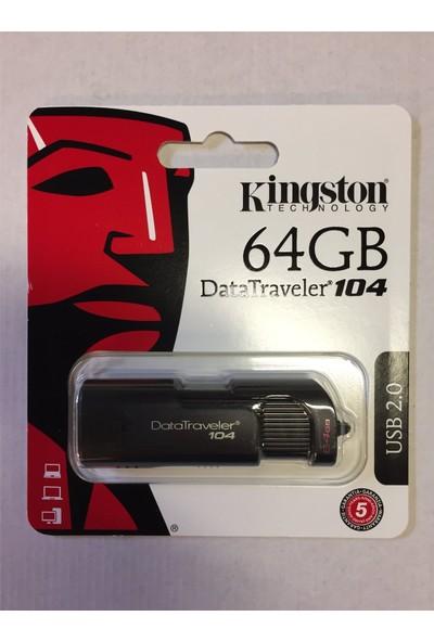 Kingston 64 GB DT104 / 64 GB USB Bellek