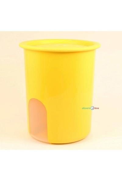 Tupperware Açıkgöz Saklama Kabı ( 1,25LT ) ( Sarı )