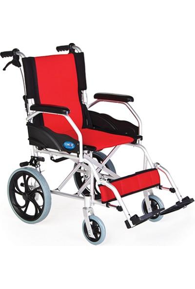 Mor Medikal Comfort Plus KY863LAJ - 12 Refakatçı Kullanımlı Tekerlekli Sandalye