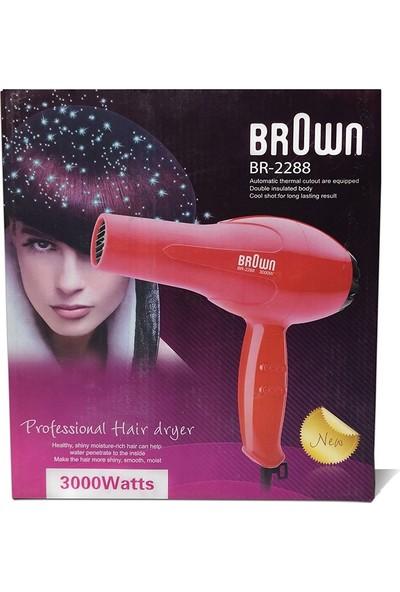 Brown BR-2288 3000W Sıcak Soğuk Saç Kurutma Makinası