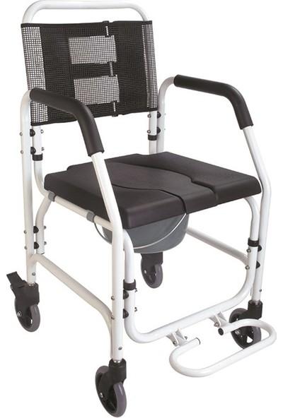 Mor Medikal G500 Aluminum Floating Bathroom Chair