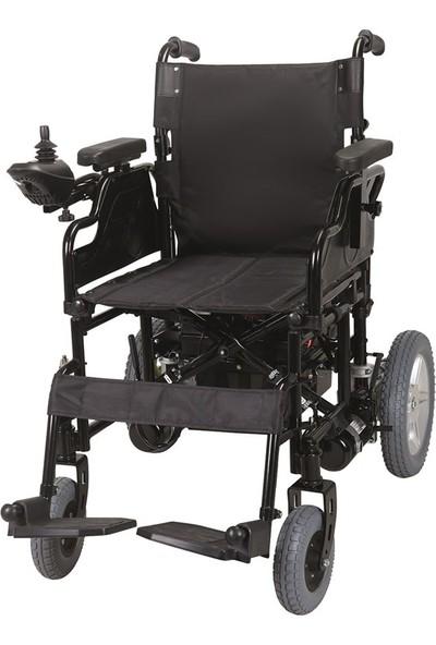 Mor Medikal JT - W111A Folding Battery Wheelchair