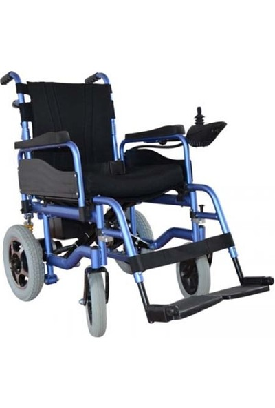 Mor Medikal Sirti Yatar Akülü Tekerlekli Sandalye