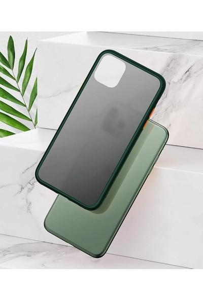 Vendas Apple iPhone 11 Pro Max Premium Drop Design Silikon Siyah Kılıf + 5D Tam Kaplama Ekran Koruyucu