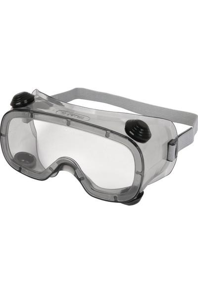 Delta Plus Ruiz 1 Şeffaf Koruyucu Goggle Gözlük / İş Gözlüğü