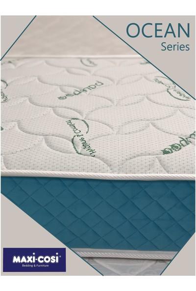 Maxi Cosi Ocean Bamboo Kumaş Yaylı Yatak Lüx Orta Sert Yaylı Yatak 70X110 cm