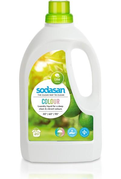 Sodasan Sıvı Çamaşır Deterjanı Limon - 1,5 LT