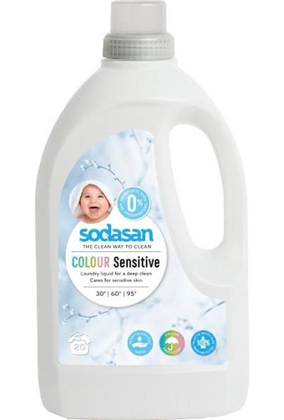 Sodasan Sıvı Çamaşır Deterjanı – Bebek, Hassas Ciltler- 1,5 LT