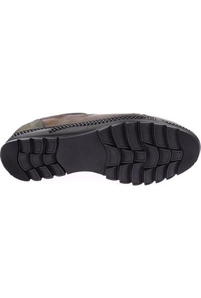 Dgn 10312 Erkek Boğazlı Stretch Spor Lastik Bağlı Casual Ayakkabı
