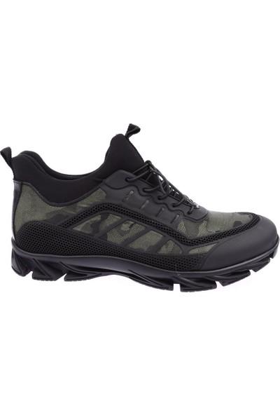 Dgn Scootland 10357 Erkek Boğazlı Stretch Lastik Bağlı Sneakers Ayakkabı