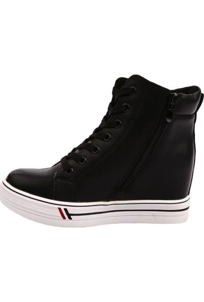 Guja 19K304-1 Kadın Gizli Dolgu Taban Bilek Ayakkabı