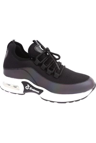 Guja 19K326-3 Kadın Air Kalın Taban Çapraz Bağlı Sneakers Spor Ayakkabı