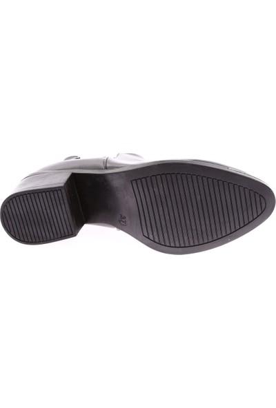 Dgn 8751 Kadın Sivri Burun Topuklu Chelsea Bot