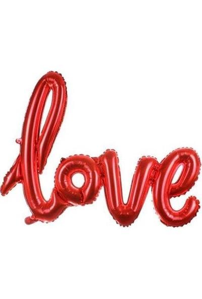 Kidspartim Love Folyo Balon 20 Inc Kirmizi