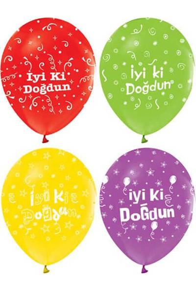Kidspartim Iyiki Doğdun Baskili Balon