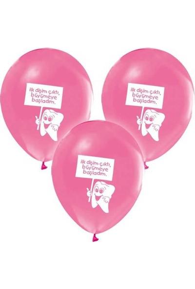 Kidspartim Diş Buğdayi Pembe Balon