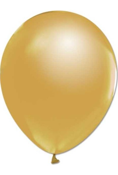 Kidspartim 100'lü Metalik Gold Balon 12 inç