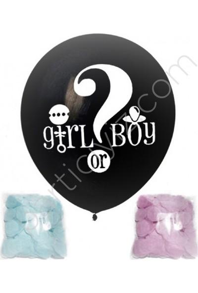 Kidspartim Cinsiyet Balonu Erkek Büyük Boy