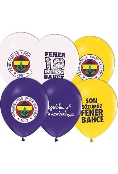 Kidspartim Fenerbahçe Baskili Renkli Balon