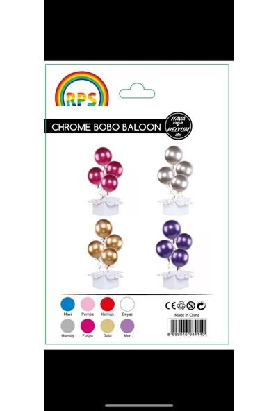 Kidspartim Krom Bobo Baloon Pembe 18 inç