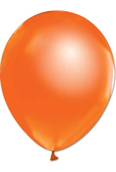 Kidspartim Metalik Turuncu Balon 12 inç