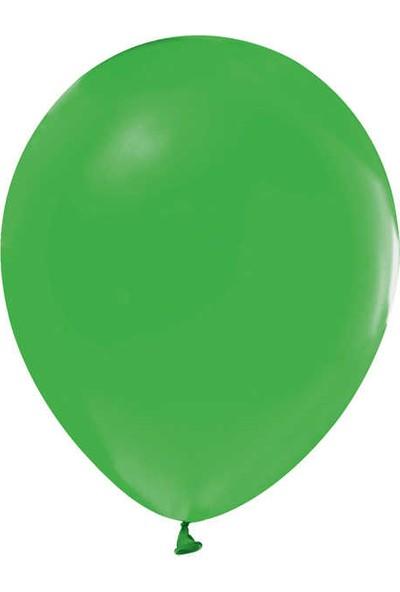 Kidspartim Metalik Yeşil Balon 12 inç