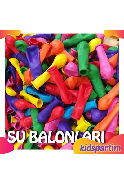 Kidspartim Su Balonu Karişik Renkli