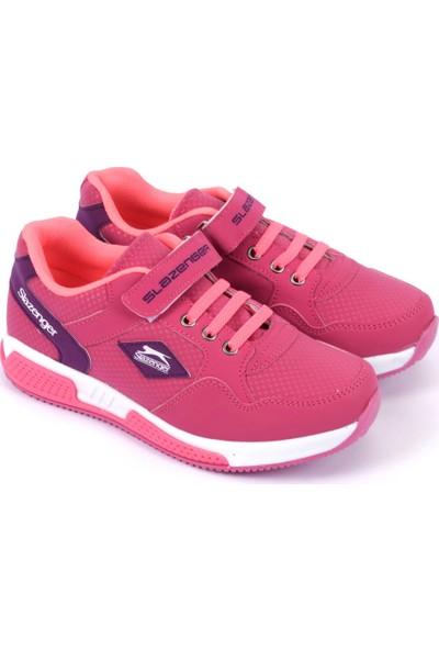 Slazenger Emır X Spor Çocuk Ayakkabı Fuşya