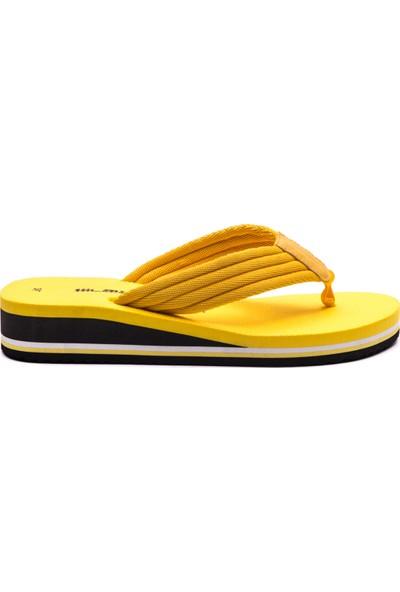 Slazenger Vilma Kadın Terlik Sarı