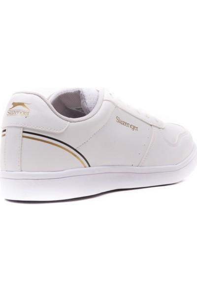 Slazenger İnfo Günlük Giyim Erkek Ayakkabı Beyaz / Altın