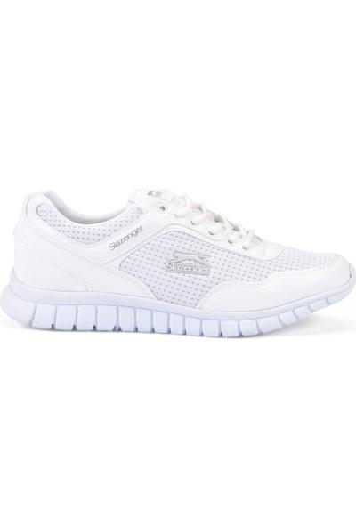 Slazenger Aeron I Koşu Yürüyüş Erkek Ayakkabı Beyaz
