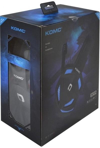Komc G302 USB Oyuncu Kulaklığı - Mavi